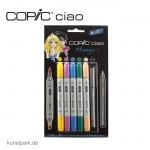 COPIC ciao Set 5+1 - Manga 1