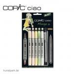 COPIC ciao Set 5+1 - Manga 6