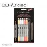 COPIC ciao Set 5+1 - Pastellfarben