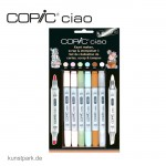 COPIC ciao Set 5+1 - Scrap & Stempelset 1