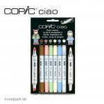 COPIC ciao Set 5+1 - Scrap & Stempelset 2