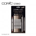 COPIC ciao Set 5+1 - Warme Grautöne