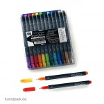 COPIC Glitter-Pen Set mit 12 Farben