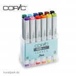 COPIC Marker Set 12er - Basis