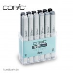 COPIC Marker Set 12er - Grau CG