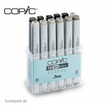 COPIC Marker Set 12er - Grau WG
