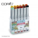 COPIC Marker Set 12er - Herbstfarben