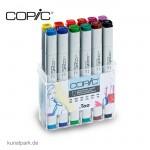 COPIC Marker Set 12er - Leuchtende Farben