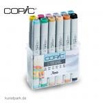 COPIC Marker Set 12er - Pastellfarben