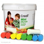 Creall SILKY SOFT Knete Set mit 5 kräftige Farben, 1100 g