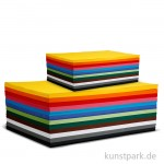 Creativ Karton 120 Blatt, 180g, 12 Farben sortiert