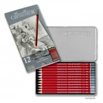 Cretacolor CLEOS Fine Art Graphit - 12er Set im Metalletui