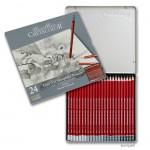 Cretacolor CLEOS Fine Art Graphit - 24er Set im Metalletui