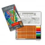 Cretacolor FineArt Pastel - 12 Pastellkreiden sortiert im Metalletui