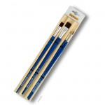 Da Vinci Pinselset FORTE ACRYLICS, 4 Pinsel mit Bambusmatte