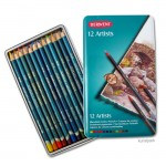 Derwent ARTISTS - 12 Farbstifte im Blechetui