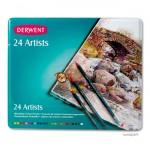 Derwent ARTISTS - 24 Farbstifte im Blechetui