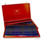 Derwent INKTENSE Set - 72 Stifte im Holzkasten