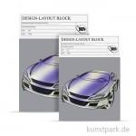 Design-Block für Marker - 75 Blatt, 70g