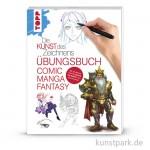 Die Kunst des Zeichnens - Comic Manga Fantasy Übungsbuch , TOPP