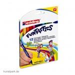 edding 15 FUNTASTICS Kinder-Fasermaler Set mit 12 Farben