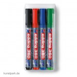 edding 360 Whiteboard-Marker Set, Etui mit 4 Farben