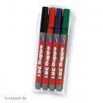 edding 361 Whiteboard-Marker Set, Etui mit 4 Farben