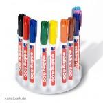 edding 400 Permanent-Marker Set, Box mit 10 Farben