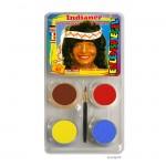 Eulenspiegel Motiv-Set Indianer mit vier Farben