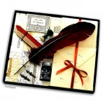 Exclusives Kalligrafie-Set - Fine Art 4 - 9 teiliges Set mit viel Zubehör