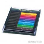 Faber-Castell PITT Artist Pen Brush - 12 Tuschestifte, Bright