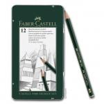 Faber-Castell 9000 - Set mit 12 Bleistiften DESIGN