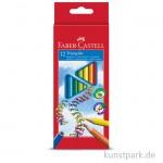 Faber-Castell Buntstift TRIANGULAR - 12er Kartonetui