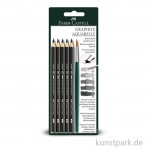 Faber-Castell GRAPHITE AQUARELLE 4er Set inkl. Pinsel