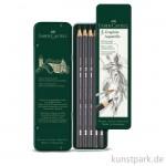 Faber-Castell GRAPHITE AQUARELLE - Set mit 5 Bleistiften