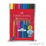 Faber-Castell - GRIP Colour Marker - 10er Etui