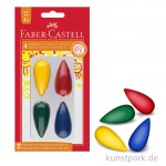 Faber-Castell Malkreide - 4er Set - Birne