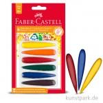 Faber-Castell Malkreide - 6er Set - Finger