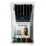 Faber-Castell pen BRUSH - 6er-Set LANDSCAPE