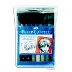 Faber-Castell pen BRUSH - 8er-Set MANGA