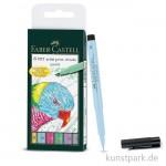 Faber-Castell PITT artist pen Brush - 6er Set - PASTEL