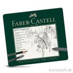 Faber-Castell PITT Graphite Set medium - 19teilig