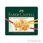 FABER CASTELL - Polychromos - 24er Set im Blechetui