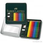 Faber-Castell POLYCHROMOS & Castell 9000 - Mixed Media im Geschenketui