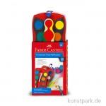 Farber Castell Connector Farbkasten, 24 Farben inkl. Deckweiß