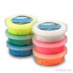 Foam Clay - Glitter Sortiment, 6x14 g