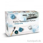 Foto Transfer Potch Set Vintage Living