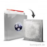 Gießform - Quadrat mittel - 18,5 x 18,5 cm, Tiefe 3,5 cm