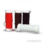 Gummischnüre-Set, 4x5 m - farbig sortiert