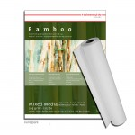 Hahnemühle BAMBOO-Mixed-Media - 265g, 1,25 x 10 Meter Rolle
